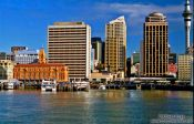 Travel photography:Auckland City ferry terminal, New Zealand