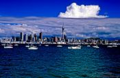 Travel photography:Auckland from the water, New Zealand