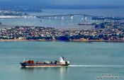 Travel photography:View of Auckland City and the Harbour Bridge, New Zealand