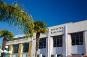 Travel photography:Historic buildings in Napier, New Zealand