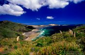 Travel photography:Cape Maria van Diemen with Te Werahi beach, New Zealand