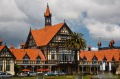 Travel photography:The old Bath House in Rotorua, New Zealand