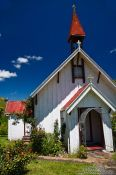 Travel photography:Church near Whanganui, New Zealand