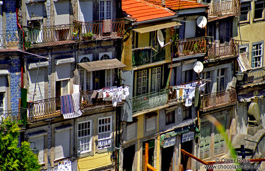 Houses in Porto`s Ribeira District
