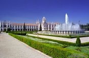 Travel photography:Mosteiro dos Jeronimos in Lisbon, Portugal