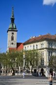 Travel photography:St. Martin´s cathedral in Bratislava, Slovakia