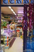 Travel photography:Delicatessen shop in Bilbao, Spain
