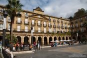 Travel photography:The plaza nueva in Bilbao, Spain