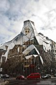 Travel photography:Modern building in Bilbao by Coll-Barreu architects, Spain