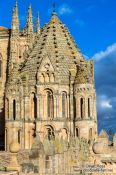 Travel photography:Battlements of Salamanca Cathedral, Spain