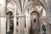 Travel photography:Inside the Salamanca cathedral, Spain