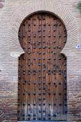 Travel photography:Toledo door, Spain