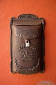 Travel photography:Letterbox in Begur, Spain
