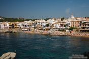 Travel photography:Calella de Palafrugell beach, Spain