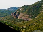 Travel photography:Cingles de Berti landscape, Spain