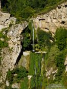 Travel photography:Cingles de Berti waterfalls, Spain