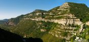 Travel photography:Cingles de Berti panorama, Spain