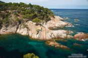 Travel photography:Small bay on the Costa Brava, Spain