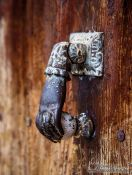 Travel photography:Door knock in Girona, Spain