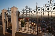 Travel photography:View from Granada`s Albayzin district, Spain