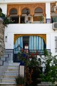 Travel photography:House in the Granada Albayzin district, Spain