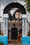 Travel photography:Flamenco house in Granada`s Sacromonte district, Spain
