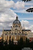 Travel photography:Madrid Catedral de la Almudena, Spain