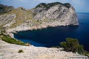 Travel photography:Small bay near Cap Formentor, Spain