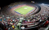 Travel photography:Camp Nou stadium, Spain