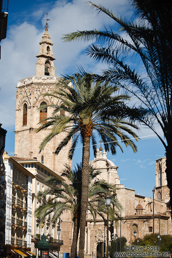 Valencia cathedral tower