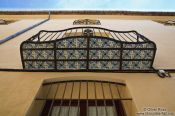 Travel photography:Typical balcony with tiles in Valencia, Spain