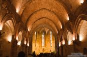 Travel photography:Inside a church in Valencia, Spain