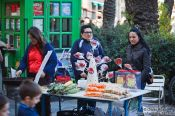 Travel photography:Selling sweets in Valencia´s old towm, Spain