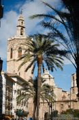 Travel photography:Valencia cathedral tower, Spain