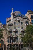 Travel photography:Casa Batlló in Barcelona, Spain