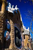 Travel photography:Barcelona Park Güell, Spain