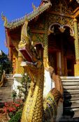 Travel photography:Temple in Chiang Rai province, Thailand