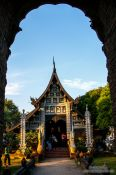 Travel photography:Wat Lok Molee temple  in Chiang Mai, Thailand
