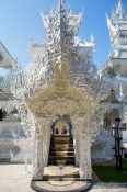 Travel photography:Chiang Rai Silver Temple, Thailand