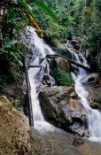 Travel photography:Waterfall in Chiang Rai province, Thailand