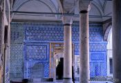 Travel photography:Building on the Topkapi palace grounds, Turkey