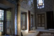 Travel photography:The main library of the Topkapi Palace, Turkey