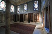 Travel photography:Inside the main library of the Topkapi Palace, Turkey