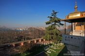 Travel photography:View of Istanbul from the Topkapi palace walls, Turkey