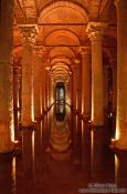 Travel photography:Inside the Yerebatan Cistern, Turkey
