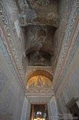 Travel photography:Mosaic above the exit of the Ayasofya (Hagia Sofia), Turkey