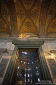 Travel photography:One of the portals to the interior of the Ayasofya (Hagia Sofia), Turkey