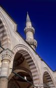 Travel photography:Minaret of the Süleymaniye Mosque, Turkey