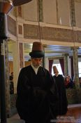 Travel photography:Derwish priest at the Mevlevi convent in Galata, Turkey