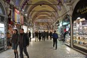 Travel photography:Shoppers in the Grand Basar in Istanbul, Turkey